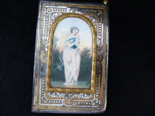 Romantic period dance card
