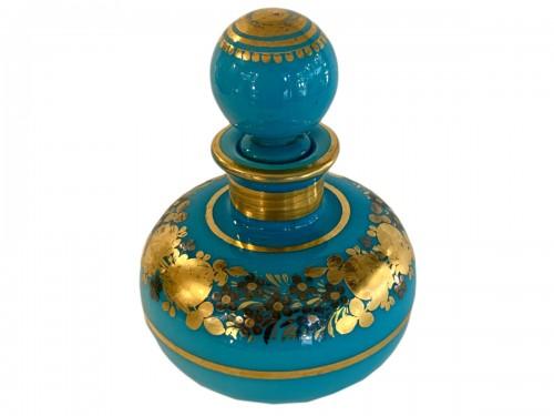 Desvignes Opaline Bottle circa 1820