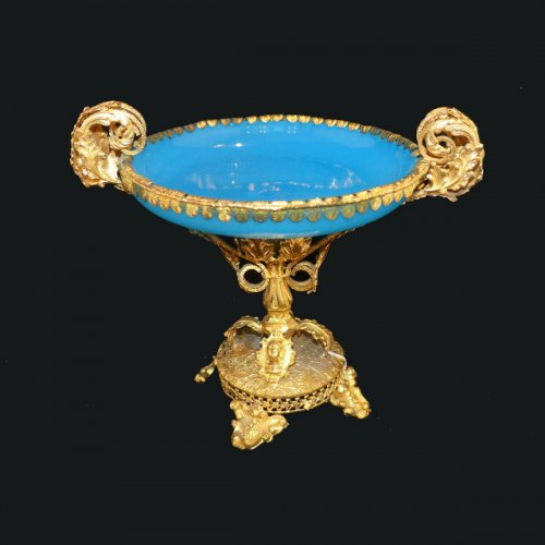 Cup in Opaline and Pomponne circa 1850