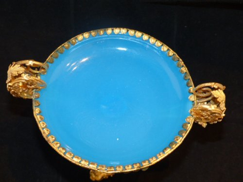 Cup in Opaline and Pomponne circa 1850 -