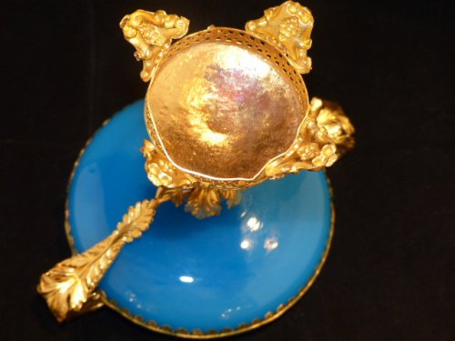 19th century - Cup in Opaline and Pomponne circa 1850