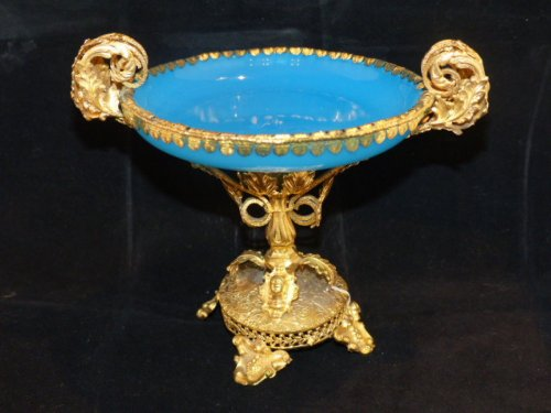 Cup in Opaline and Pomponne circa 1850 - Napoléon III