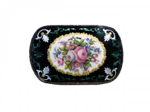 Bresse French enamel purse