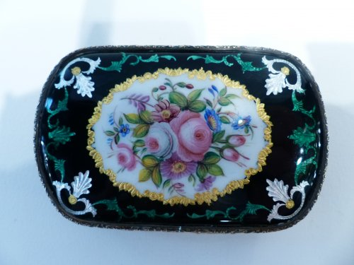 19th century - Bresse French enamel purse