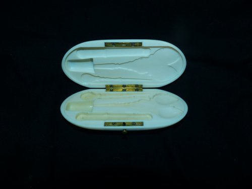 Objects of Vertu  - Sewing box in gold Napoleon III