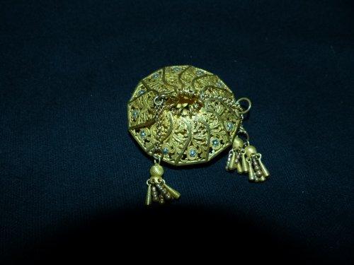 Charles X period écu purse -