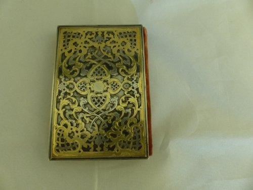 Objects of Vertu  -  Louis-Philippe period dance card