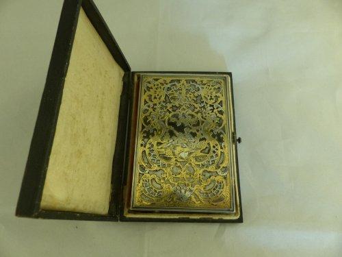 Antiquités -  Louis-Philippe period dance card
