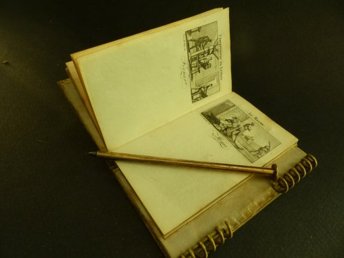 Restauration - Charles X - Louis XVIII period Note book