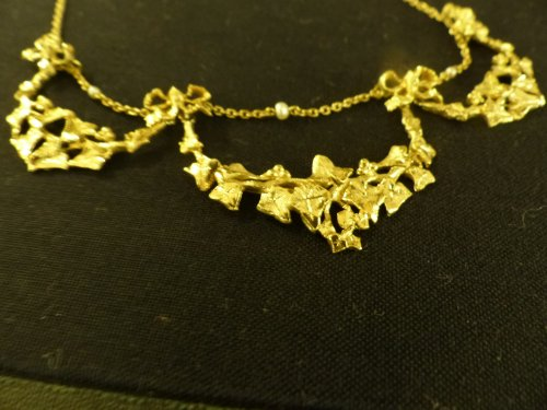 necklace Art-Nouveau period - Antique Jewellery Style Art nouveau