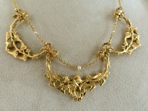 Antique Jewellery  - necklace Art-Nouveau period