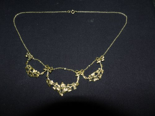 necklace Art-Nouveau period -