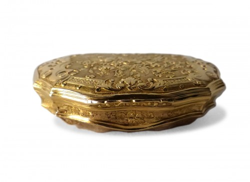 French Louis XV Gold suffbox