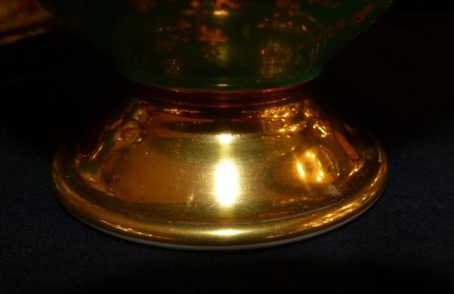 Porcelain & Faience  - Night service in porcelain of Paris circa 1820