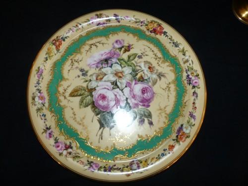 Night service in porcelain of Paris circa 1820 - Restauration - Charles X
