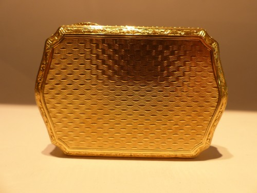 Louis-Philippe - 19 th century Gold Snuffbox