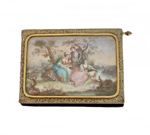 Vermeil and miniature dance card