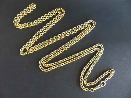 Important from the nineteenth century gold necklace - Art nouveau