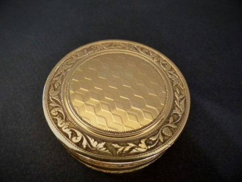 Gold box first Empire period - Directoire