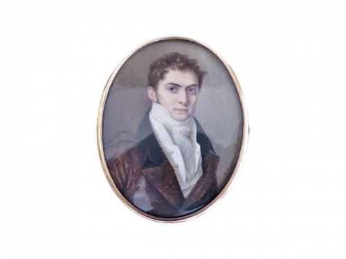 Portrait of a gentleman signed and dated 1816
