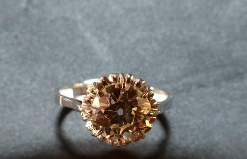 Ring in Platinum and diamond ,76 carat -