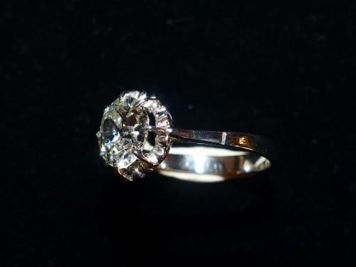 Ring in Platinum and diamond ,76 carat - Art Déco