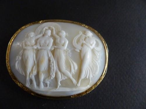 Cameo mythologic brooch - Louis-Philippe