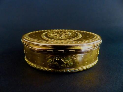 18th century - Three gold snuffbox by René Jean Lemoyne