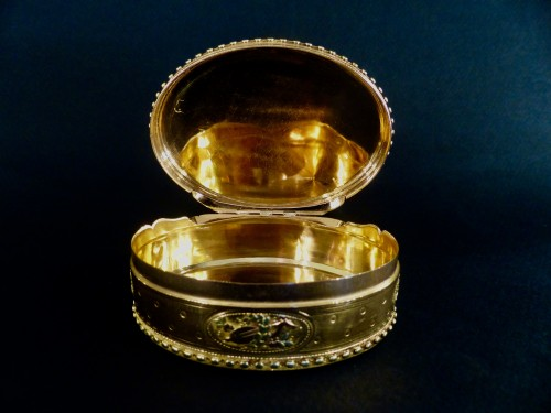 Three gold snuffbox by René Jean Lemoyne - Louis XVI