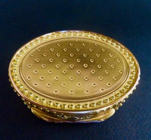 Louis XVI - Three gold snuffbox by René Jean Lemoyne