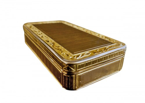 French Gold snuffbox
