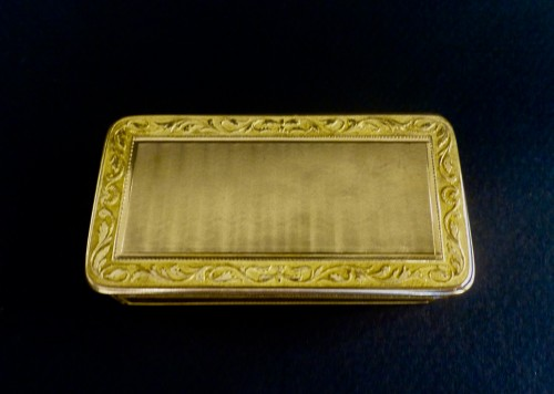 French Gold snuffbox - Objects of Vertu Style Empire