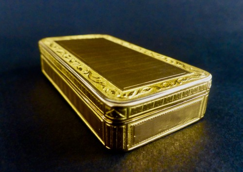 18th century - French Gold snuffbox