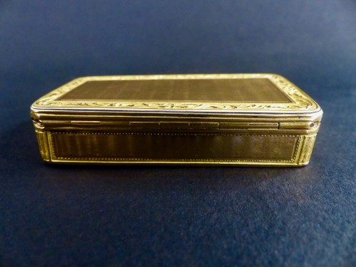 French Gold snuffbox - Empire