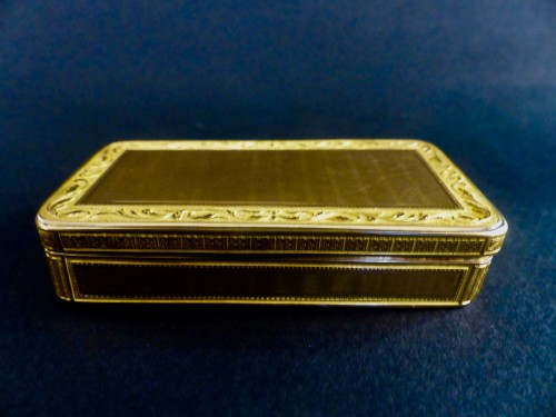 Empire - French Gold snuffbox