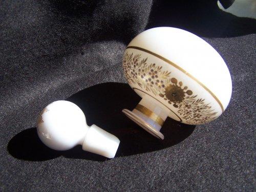Glass & Crystal  - Flacon opal crystal decoration Desvignes