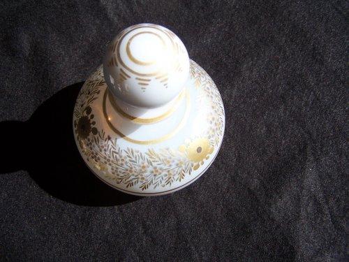 19th century - Flacon opal crystal decoration Desvignes
