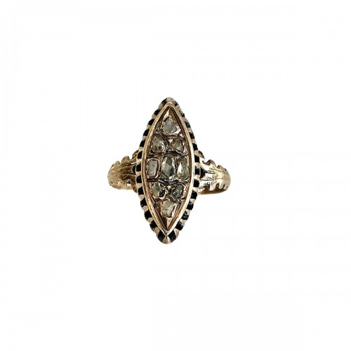 18th Century Marquise Ring