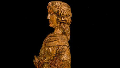 Sculpture  - Female Saint (16th century)