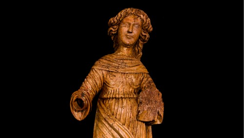 Female Saint (16th century) - Middle age