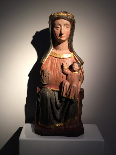 Sedes Sapientiae (14th century) - Sculpture Style Middle age
