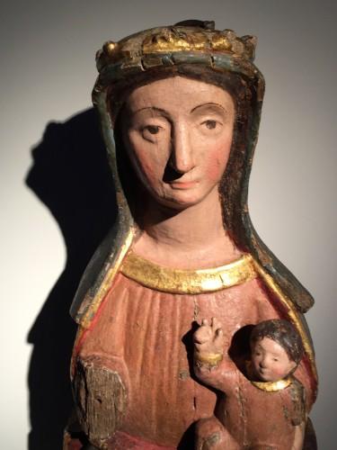 16th century - Sedes Sapientiae (14th century)
