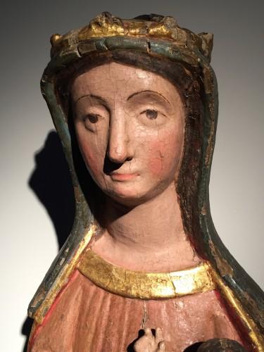 Sedes Sapientiae (14th century) - Middle age