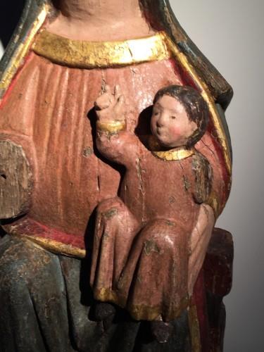 Middle age - Sedes Sapientiae (14th century)