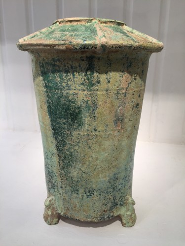 Granary (Eastern Han Dynasty, 25 – 220 AD) - Asian Art & Antiques Style Middle age
