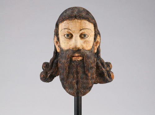 Religious Antiques  - Head of a Saint (ca. 1600)