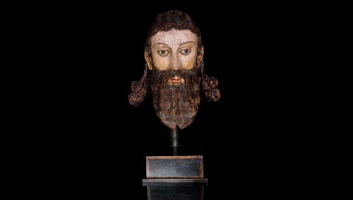 Head of a Saint (ca. 1600)   - Middle age