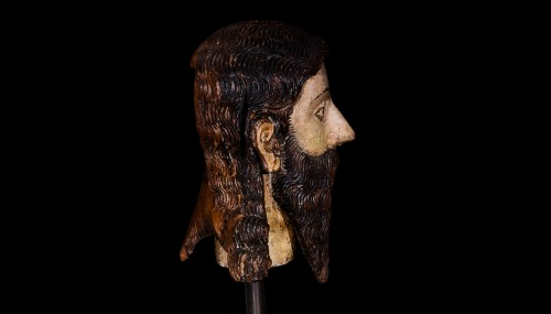 Middle age - Head of a Saint (ca. 1600)