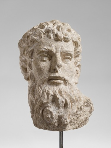 Sculpture  - Head of an Apostle - France, 16th century