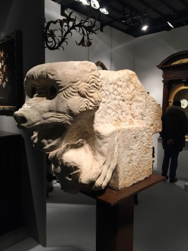 Antiquités - Marble Capital, North Italy (10th century)